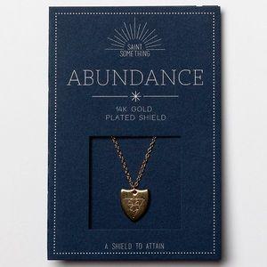 ABUNDANCE NECKLACE 14k gold